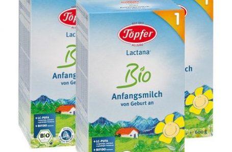 Hranirea simultana a bebelusilor cu lapte de mama si lapte praf Topfer: avantaje si riscuri